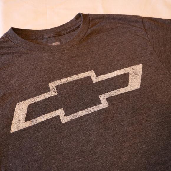 GM Brand Other - Boys Chevy Dark Grey T-Shirt Small